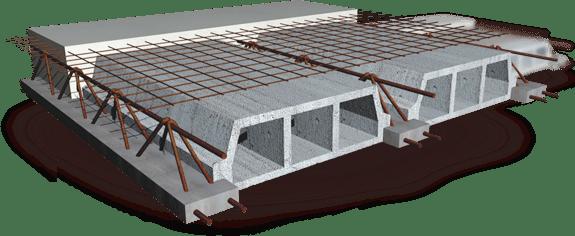 ibv - beton - Stropné systémy