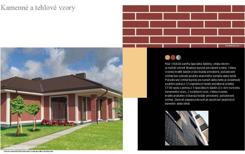 ibv - tehlove vzory Fasady kamen Page 6 - Prémiové povrchové úpravy fasád
