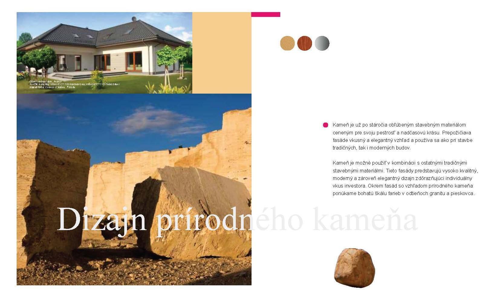 ibv - fasady kamen Page 1 - Prémiové povrchové úpravy fasád