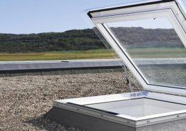 ibv - plocha strecha okno 270x190 - Ploché strechy