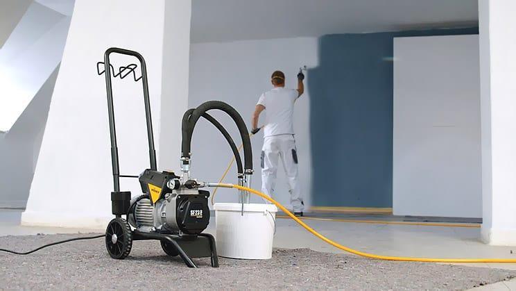 ibv - Kompresor Wagner SF 23 - Ako vymaľovať dom bez námahy za pol dňa.